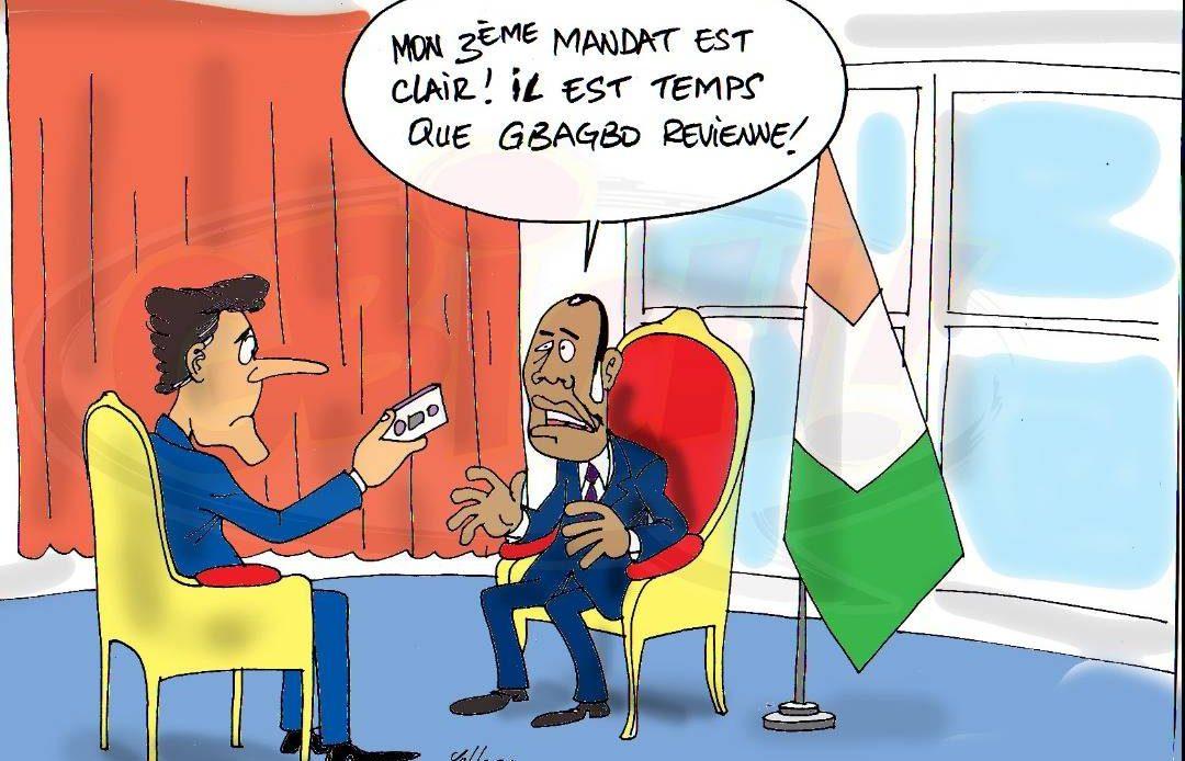 ADO favorable au retour de Gbagbo