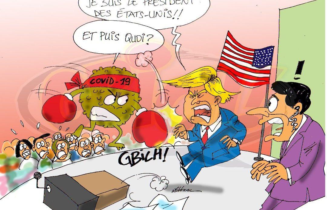 Donald Trump positif au Covid19