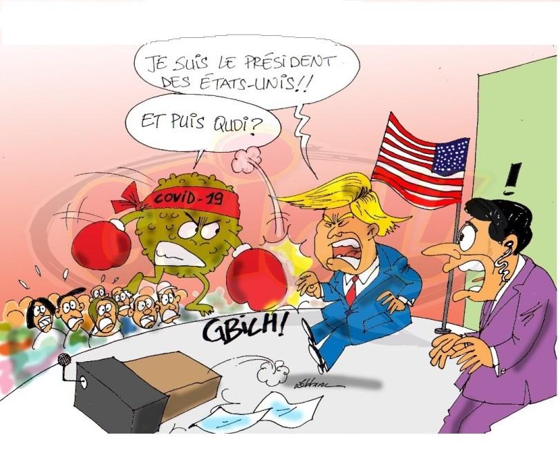 Donald Trump Déclaré positif au covid19
