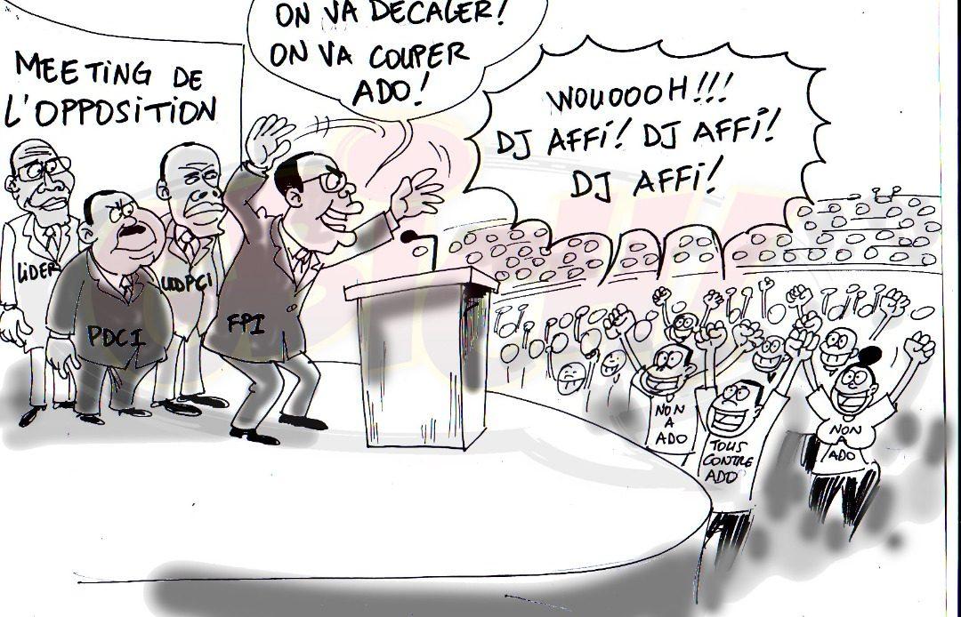 Opposition à la présidentielle