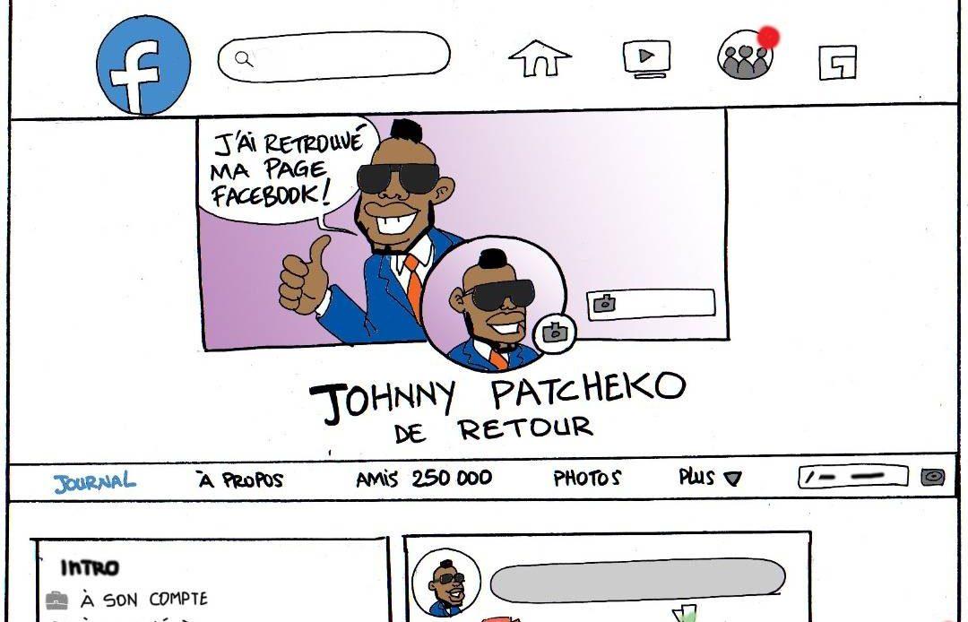 johnny Patcheko compte Facebook