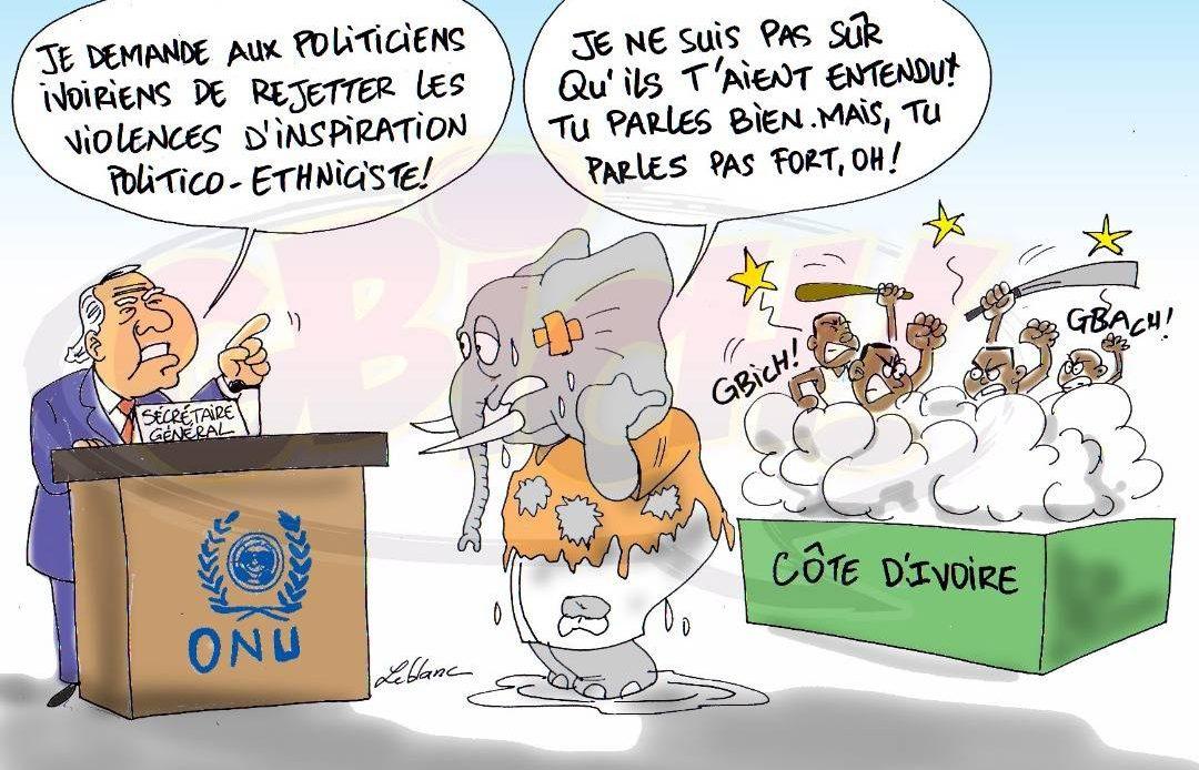 onu tranche la crise pré électorale en côte d'ivoire