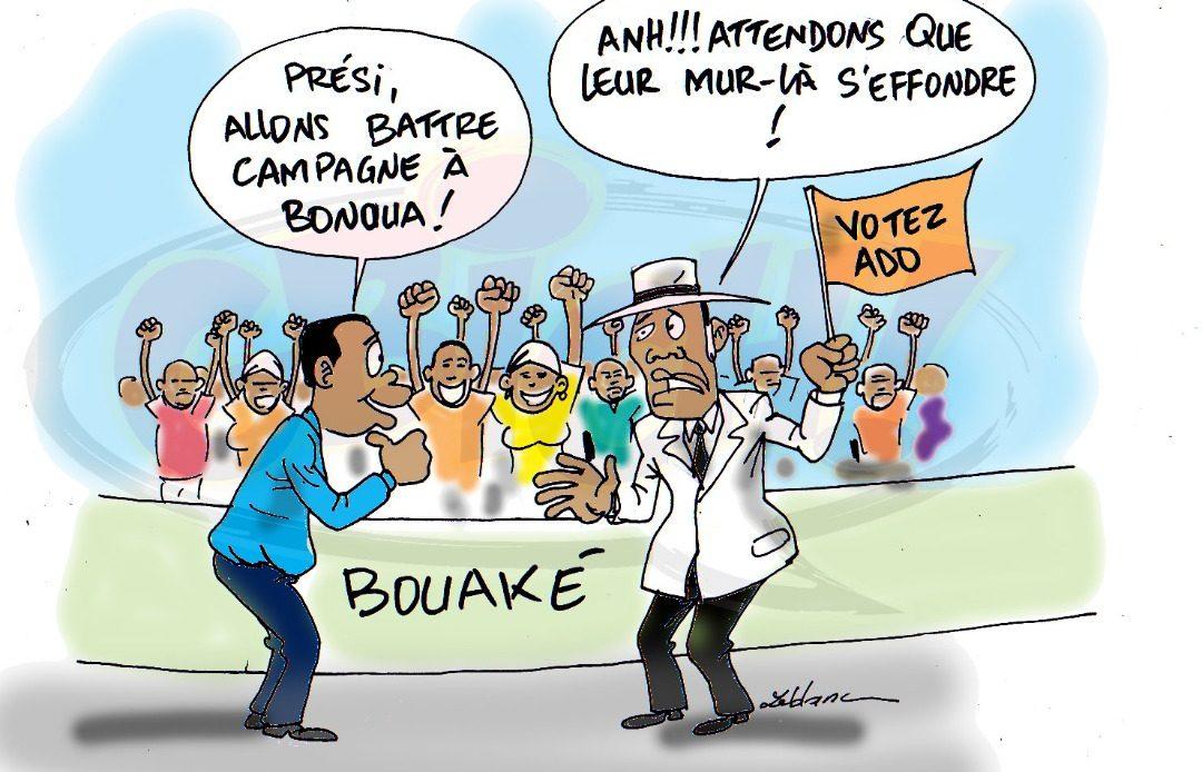 Mur d'opposition de Bonoua