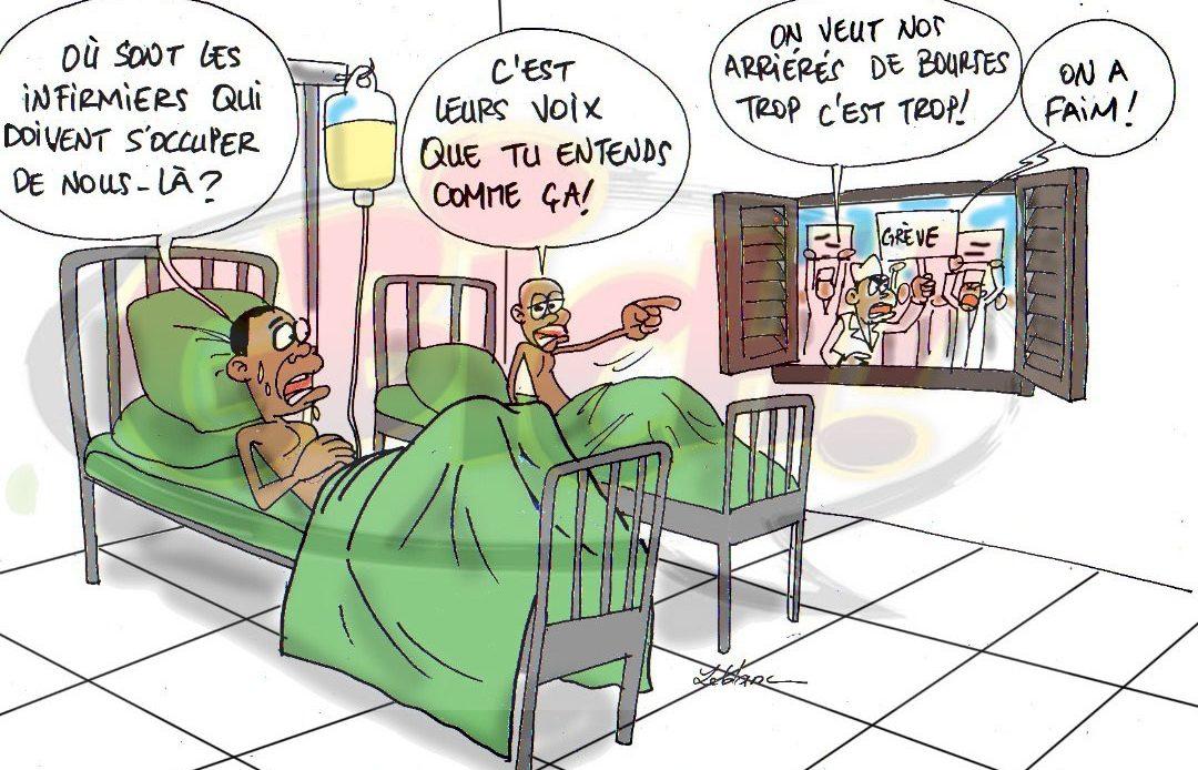 Les infirmières réclament leurs arriérés de bourses