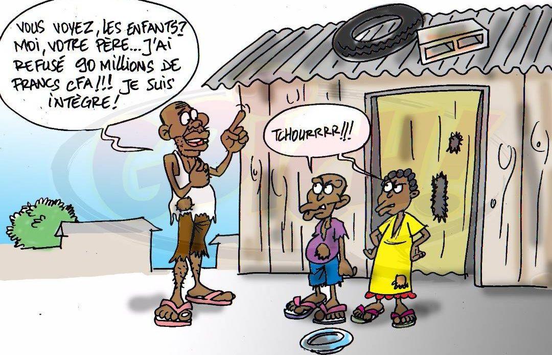 Abakar Moussa Kallé refuse un gros pot de vin