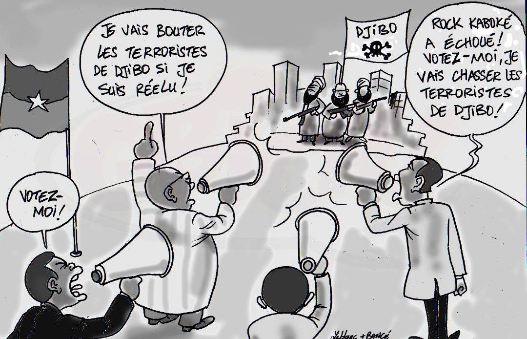 Campagne présidentielle Burkina Faso