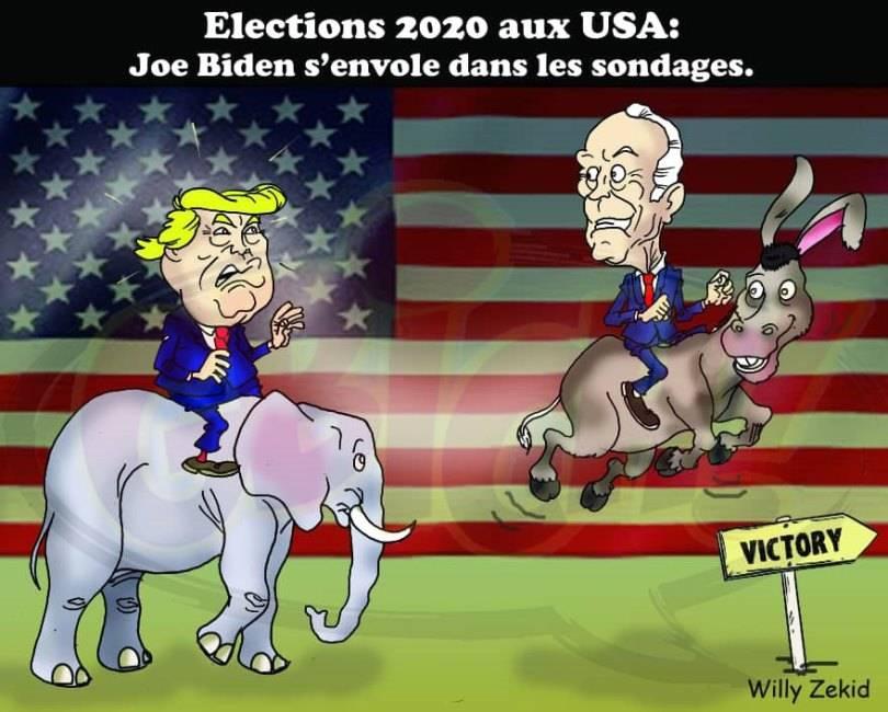 Résultats des élection aux USA