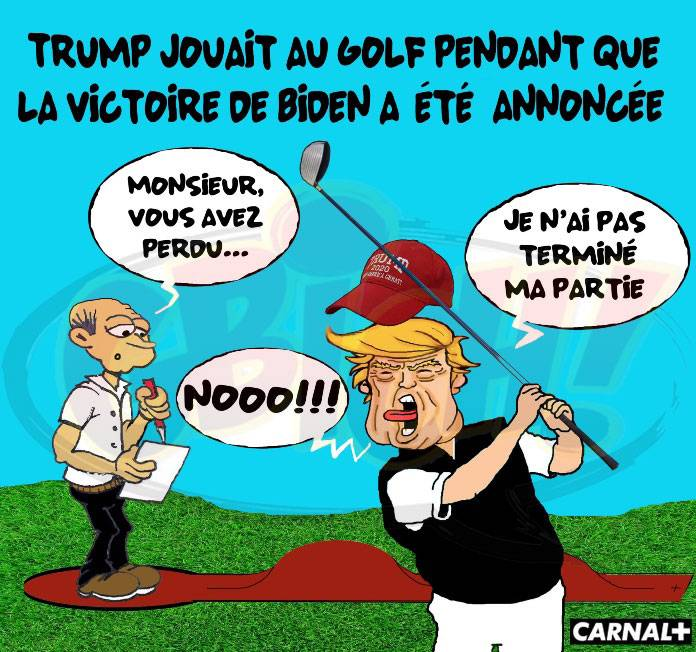Trump Joue au golf