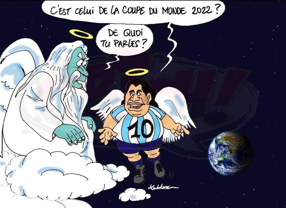 hommage à Diego maradona1