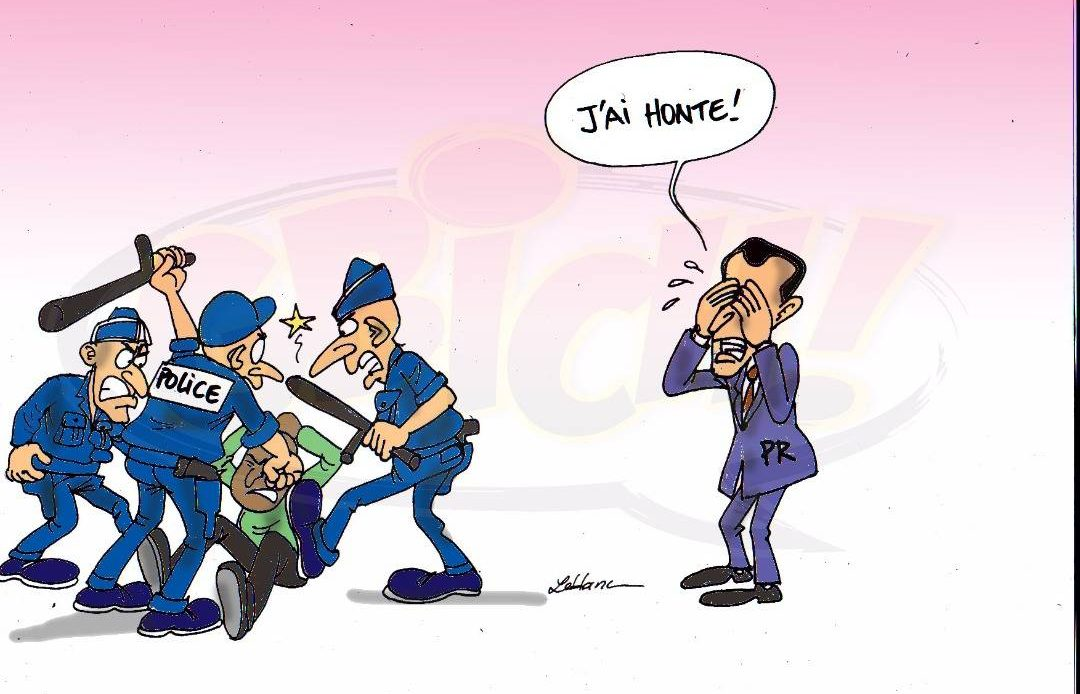 Macron a honte du racisme