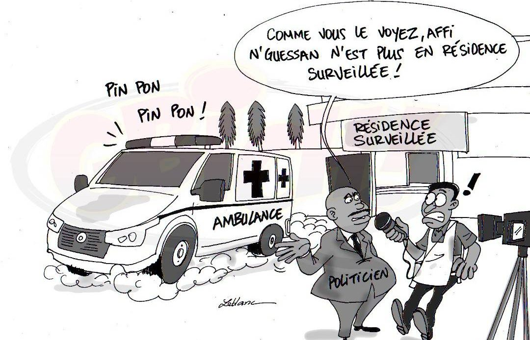 Affi Nguessan aux URGENCES