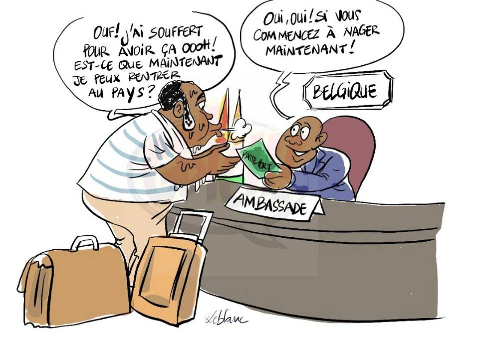 Gbagbo reçoit des passeports