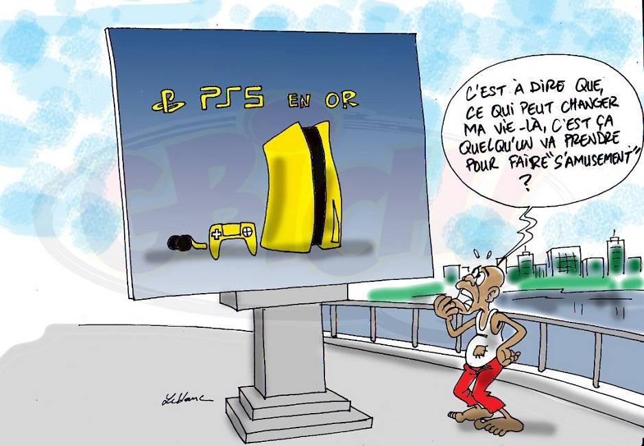Gbich PS5 en OR