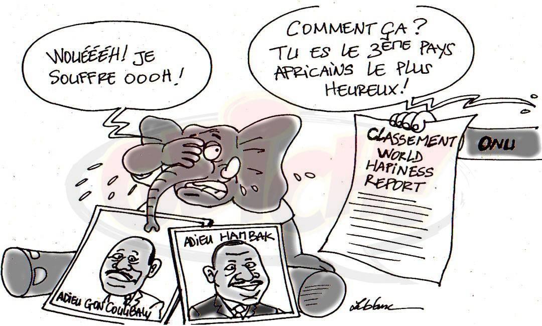 Côte d'ivoire 3e pays de joie