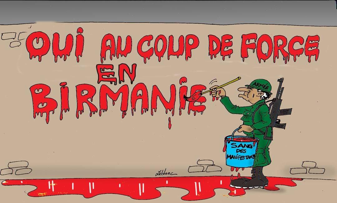 Coup de force en Birmanie