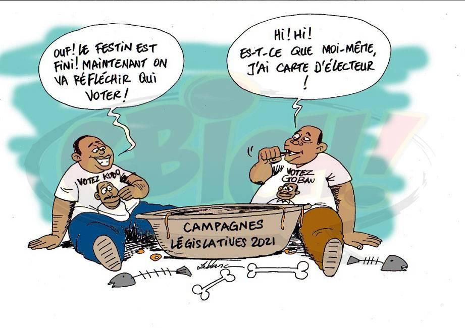campagne électorale des législatives