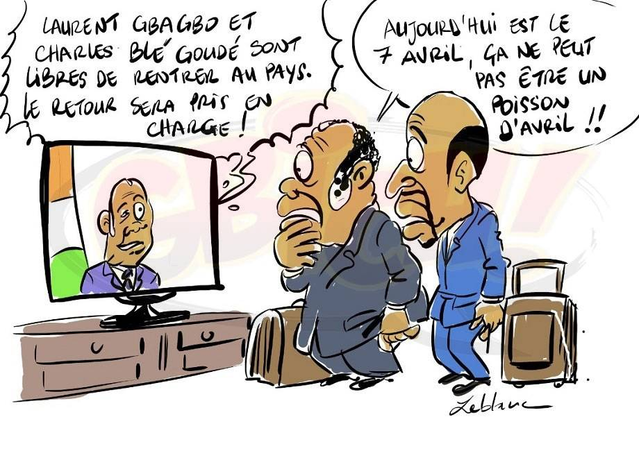 Alassane Ouattara prend en charge le retour de Gbagbo