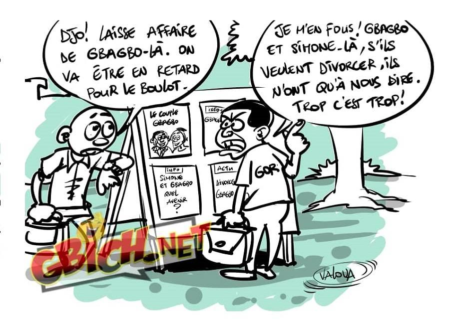 divorce de Gbagbo et Simone
