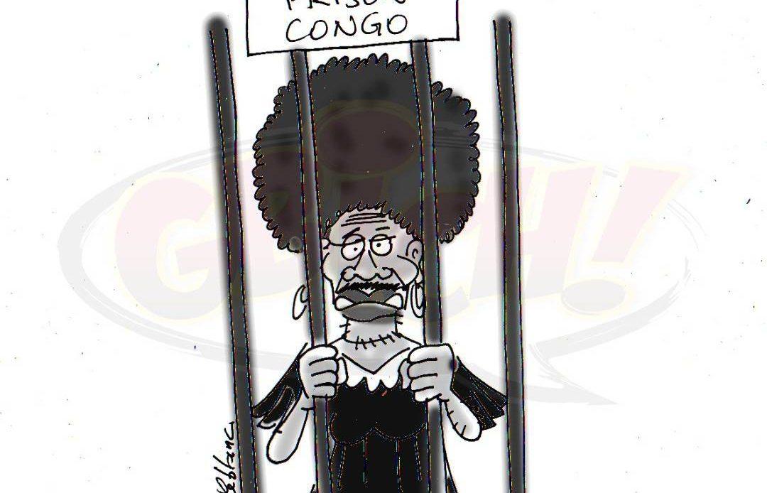 Congo évasion de prison