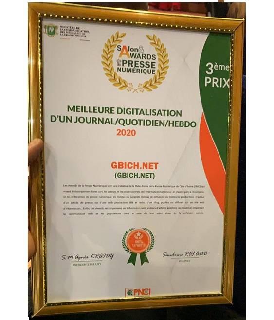 Awards de la presse numérique