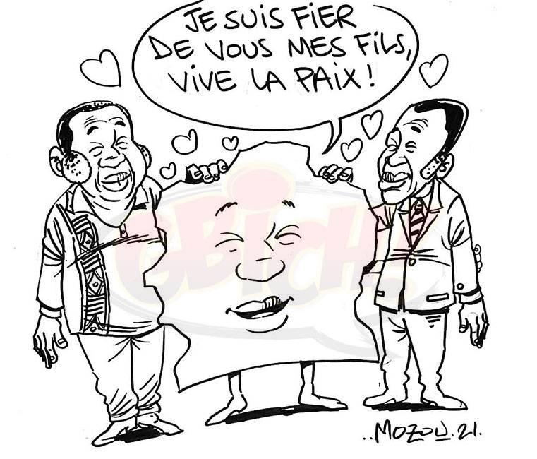Ado et Gbagbo
