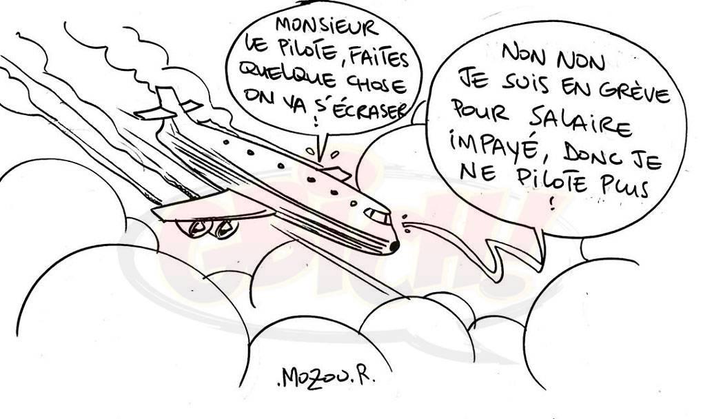Grève des agents de compagnie aérienne