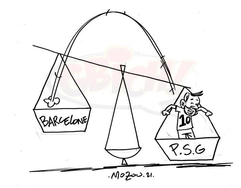 Messi de barcelone à PSG