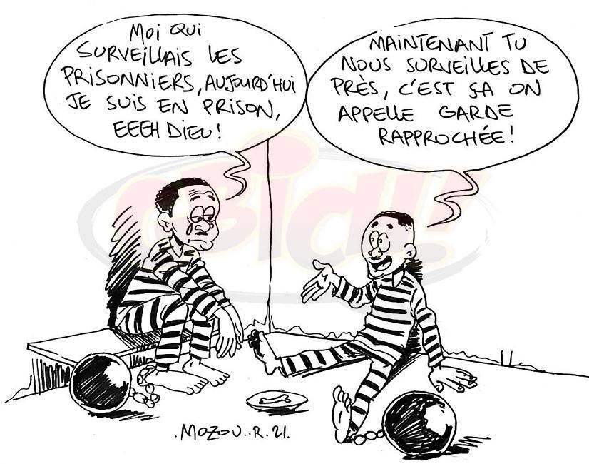 Garde pénitentiaire emprisonné