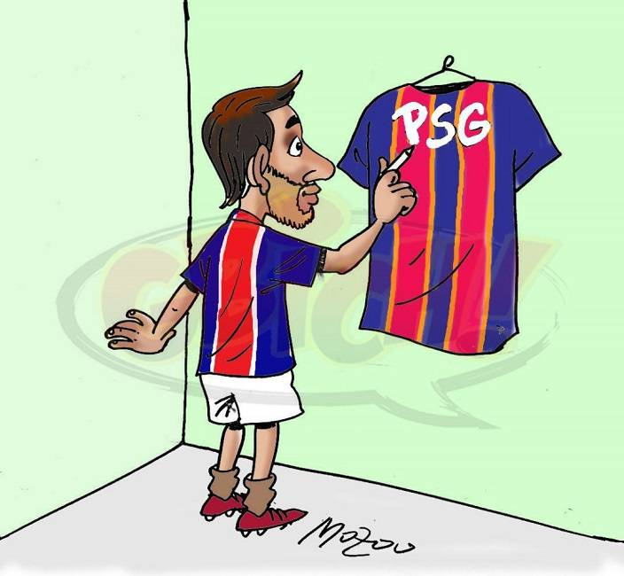 Lionel Messi à PSG