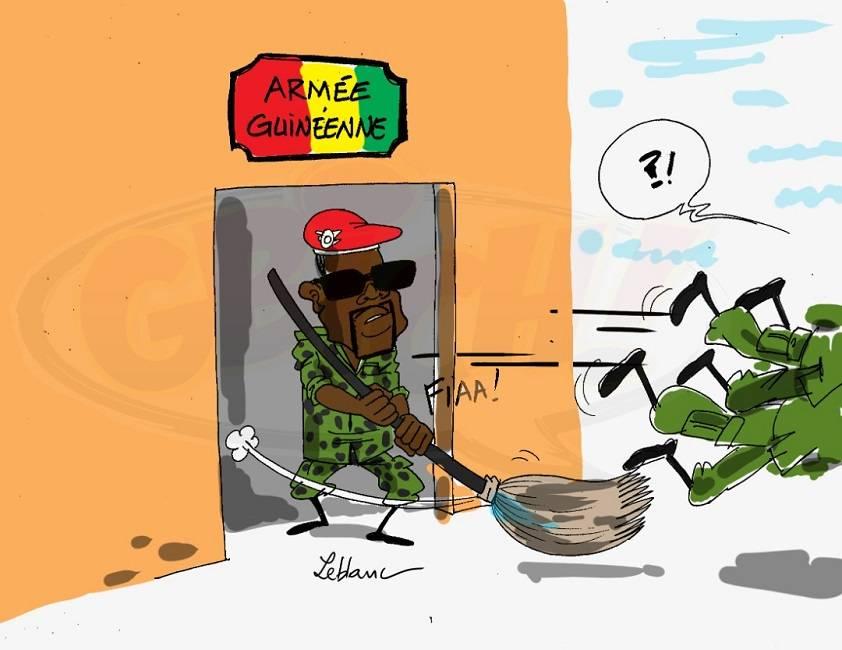 retraite dans l'armée guinéenne